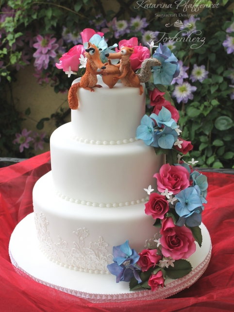 Ice Age Weddingcake